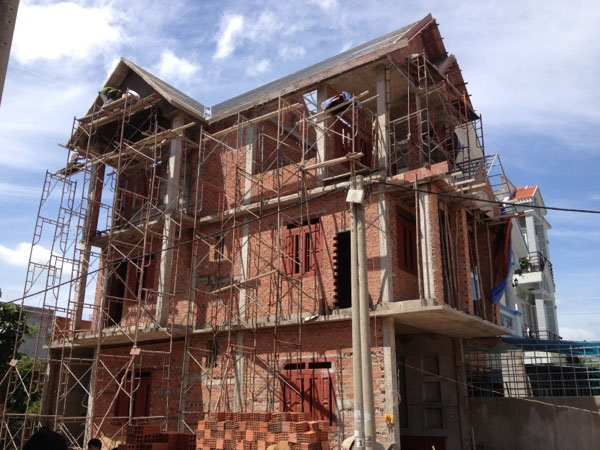 Thi công xây nhà phần thô tại Đà Nẵng