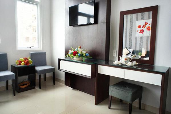 Cải tạo nhà 4 tầng thành khách sạn mini tại Đà Nẵng