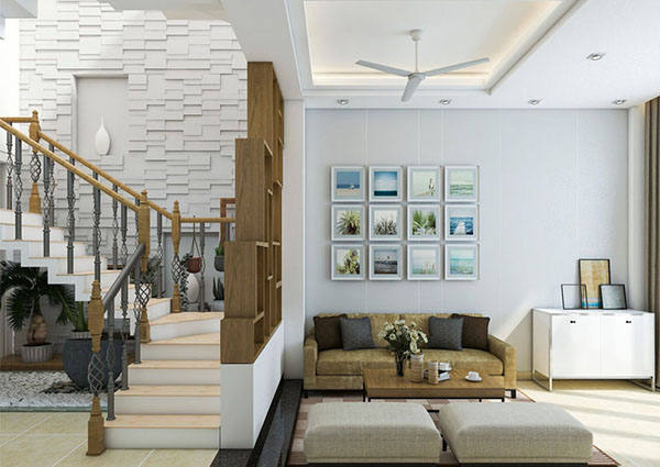 Thiết kế nội thất nhà phố tại Đà Nẵng