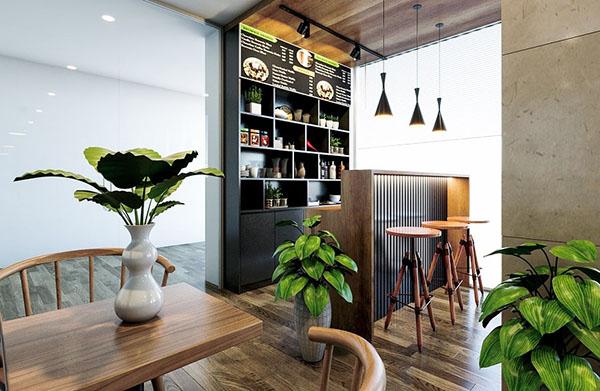 Thiết kế quán cafe đẹp tại Đà Nẵng