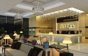 Thiết kế quầy lễ tân khách sạn tại Đà Nẵng